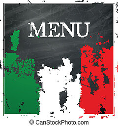 Vector Italian Menu Design