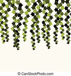 vector ivy seamless background