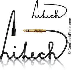 vector jack connectors hitech calligraphy