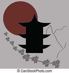 vector japanese symbols