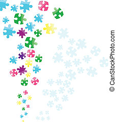 Vector Jigsaw Puzzle