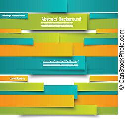 vector, kaart, lijnen, informatieboekje , abstract, design.
