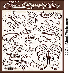 vector, kalligrafie, 01