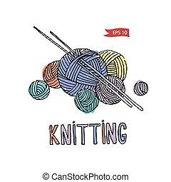 Vector knitting equipment