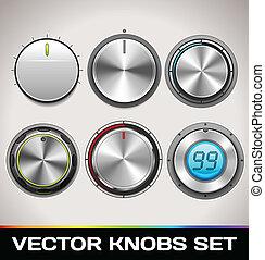 Vector Knobs Set
