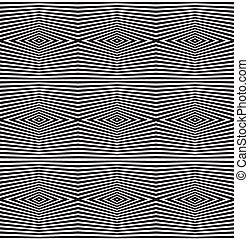vector, kunst, model, seamless, optisch, achtergrond