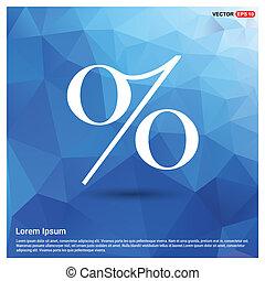 vector labels Percent price icon