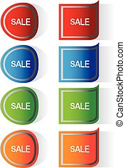 Vector Labels stickers