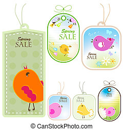 vector labels - vector discount labels