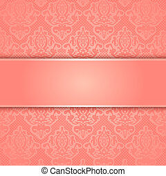 Vector lace background