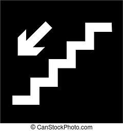 Vector ladder icon