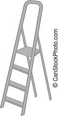 Vector Ladder. Vector Step Ladder