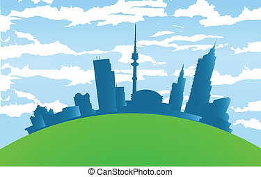 Vector landscape