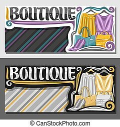 Vector layouts for Boutique