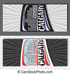 Vector layouts for Calgary