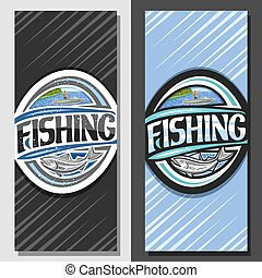 Vector layouts for Fishing