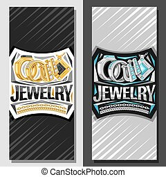 Vector layouts for Jewelry