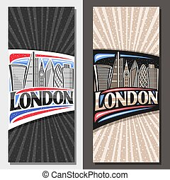 Vector layouts for London