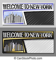 Vector layouts for New York City