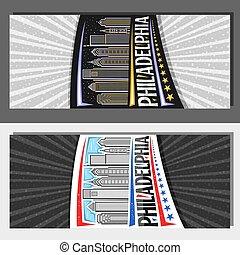 Vector layouts for Philadelphia