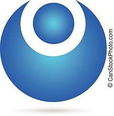 Vector leader figure logo - Vector leader figure concept of...