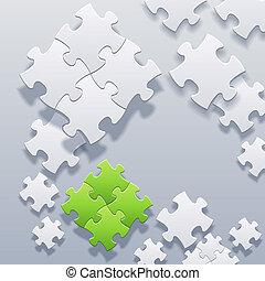 vector, leeg, abstract, raadsels, concept