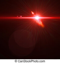 Vector lens flare effect eps8