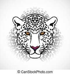 vector, leopardo