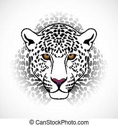 vector, leopardo