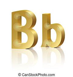 Vector letter B