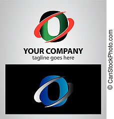 Vector Letter O logo icon design