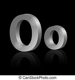 Vector letter O