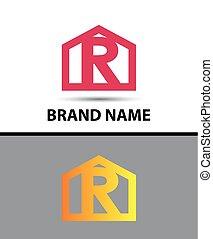 Vector - Letter R logo icon