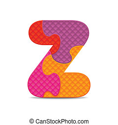 Vector letter Z