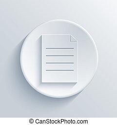 vector, licht, cirkel, icon., eps10