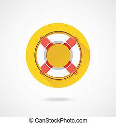 Vector Lifebuoy