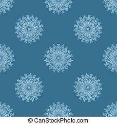 light blue seamless pattern of openwork stars