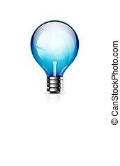 Vector light bulb icon