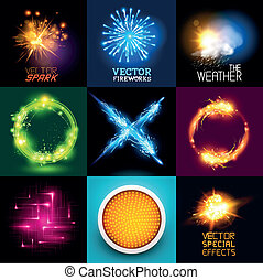 Vector Light Effects Collection