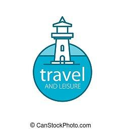 vector lighthouse logo