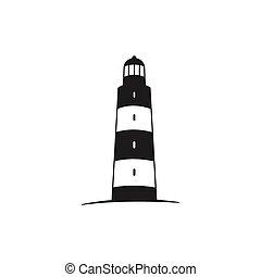 Vector Lighthouse