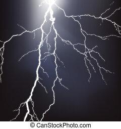 vector, lightning