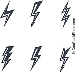 lightning silhouettes