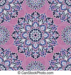 Vector lilac pattern.