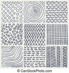 Vector Line Drawing Design Elements