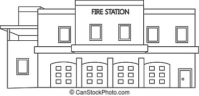 Fire station Vector Clip Art EPS Images. 2,613 Fire