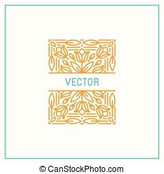 Vector linear frame