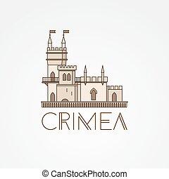 Vector linear symbol of Crimea
