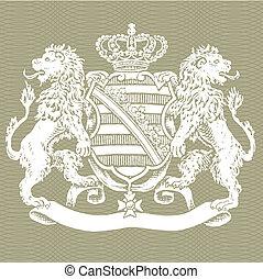 Vector Lion Crest