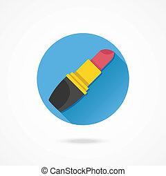 Vector Lipstick Icon